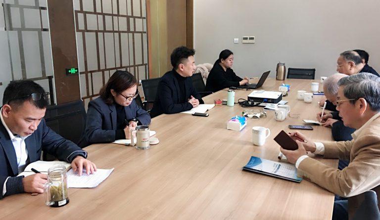 上海市航空学会领导莅临大华集团锦绣东郊产业园考察交流